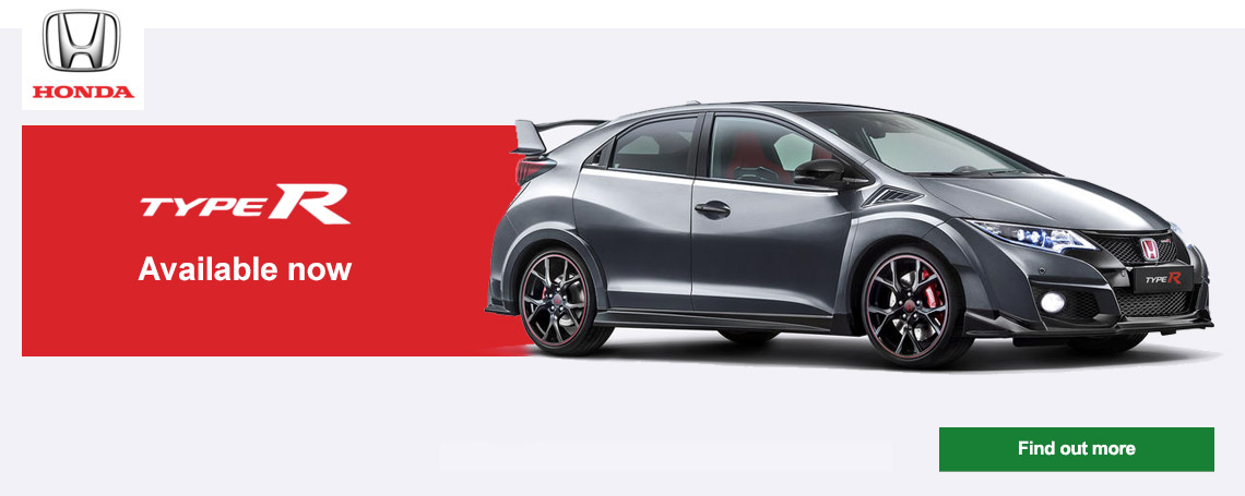 New Honda Civic TYPE-R Offer