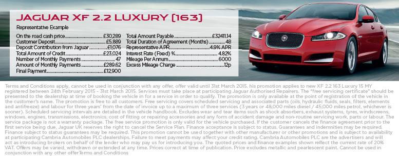 Jaguar XF from £289