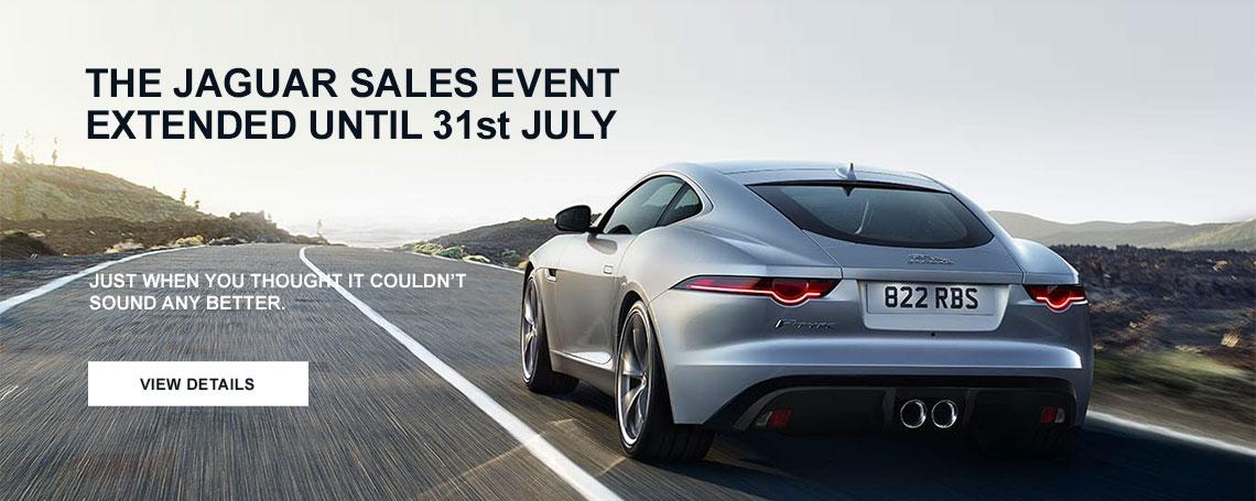 Jaguar Sales Event 31st July 2017