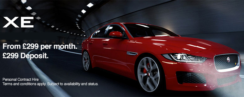 Jaguar XE £299 Offer