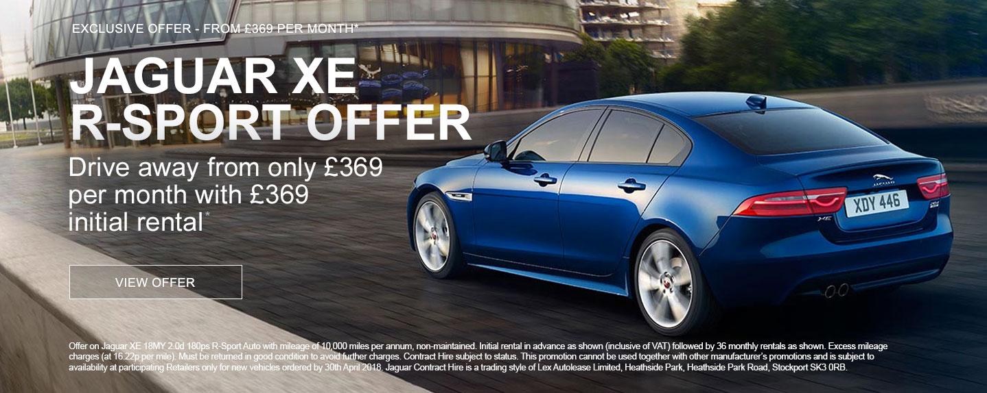 Jaguar XE PCH Offer