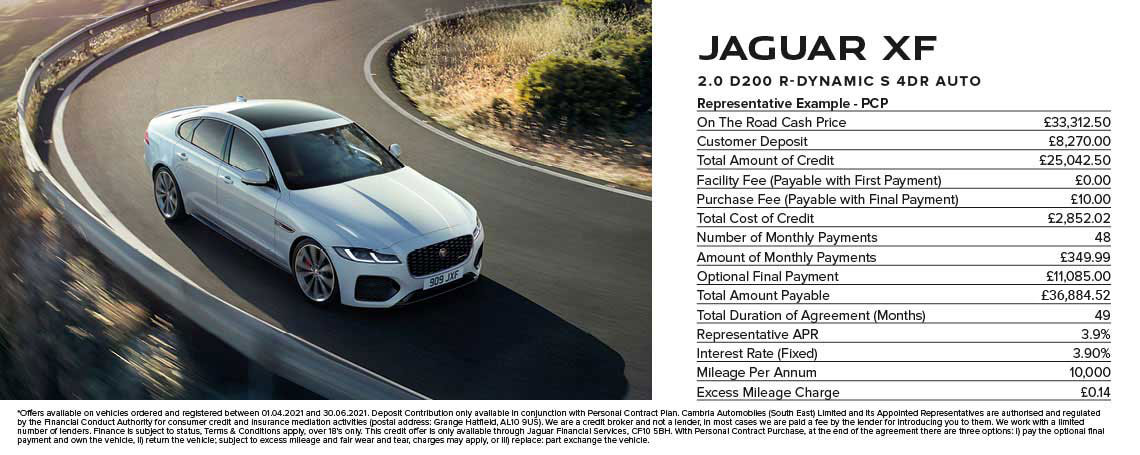 Jaguar XF Offer