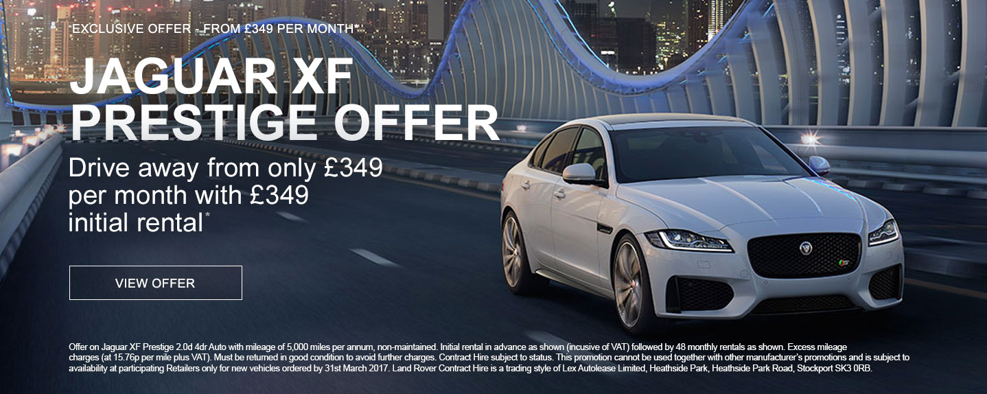Jaguar XF Prestige PCH Offer
