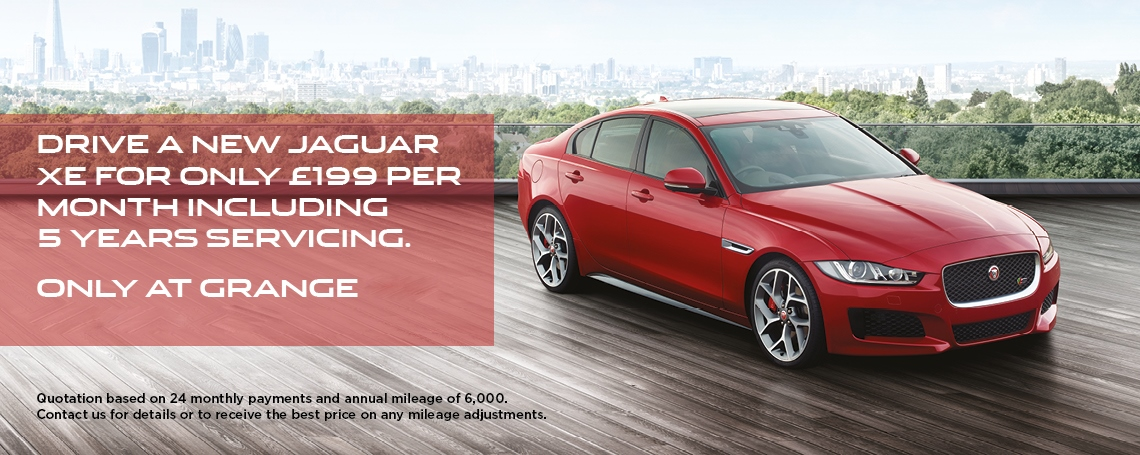 Jaguar XE £199 Offer
