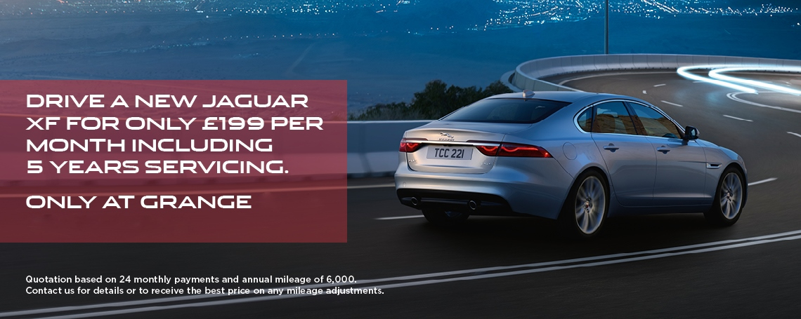 Jaguar XF £199 Offer