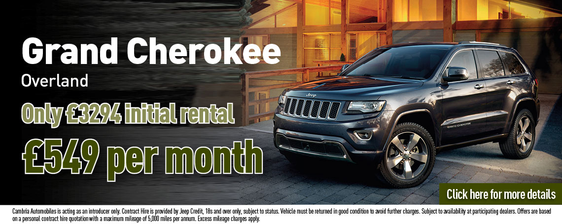 Jeep Grand Cherokee Overland PCH Offer