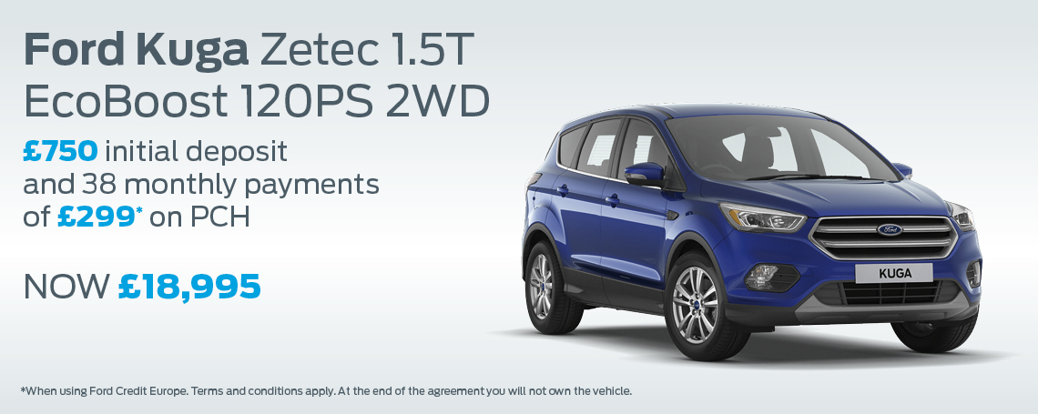 New ford kuga motorparks for Ford motor company incentives