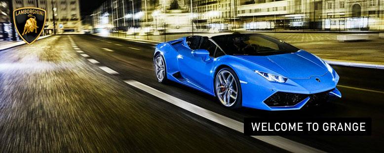 Lamborghini - New to Grange