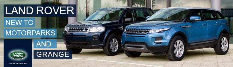 Land Rover Barnet - New to Motorparks and Grange