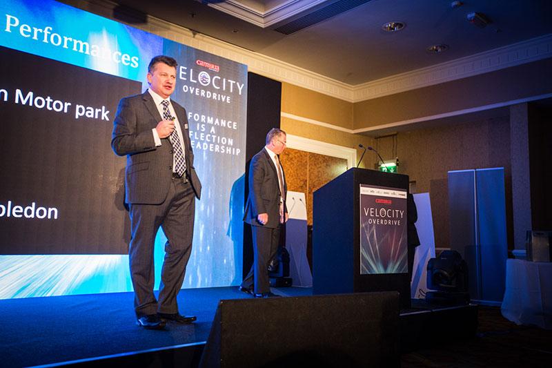 Mark Lavery - Velocity Overdrive - Cambria Conference 2016