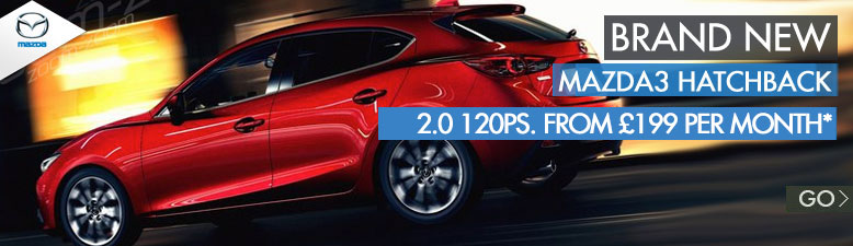 Mazda 3 from £199 per month