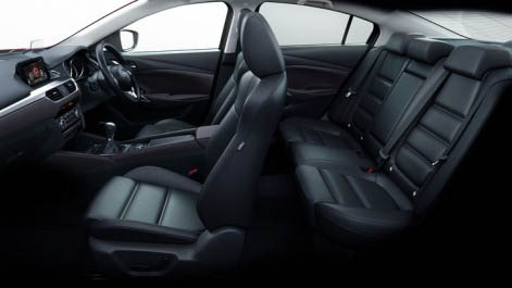 Mazda 6 Tourer and Saloon 2015 luxurious Interior