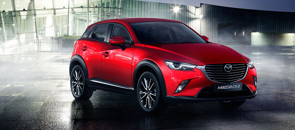 Previewing The New Mazda CX-3