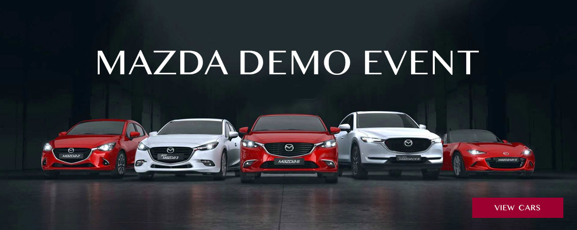 Nearly New and Demo Mazda Cars