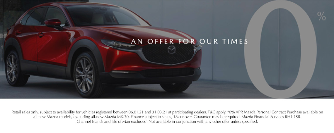 Mazda 0% Representative Finance Offer
