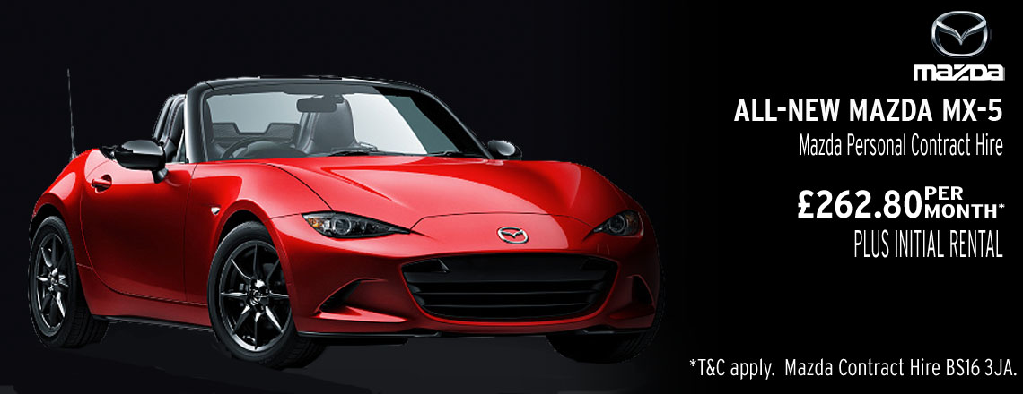 New Mazda MX-5 Offer