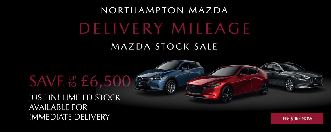 Nearly New Mazda Cars at Northampton Motors Mazda
