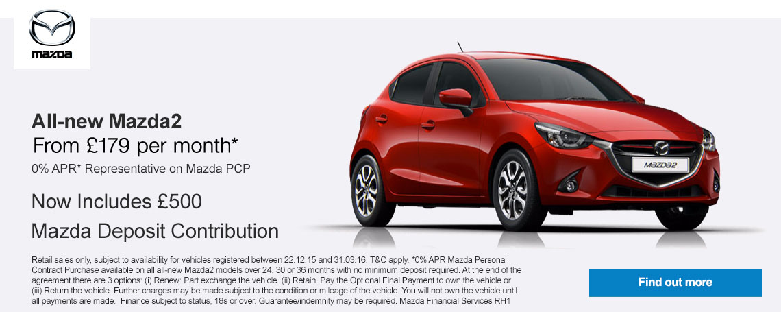 All-new Mazda2 Offer
