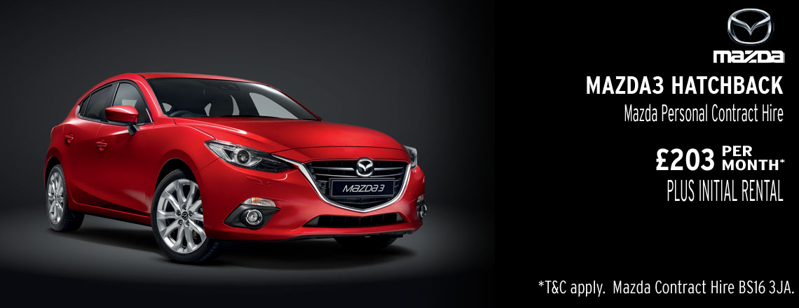 Mazda3 Hatchback Offer