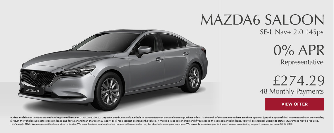 New Mazda 6 Saloon Offer