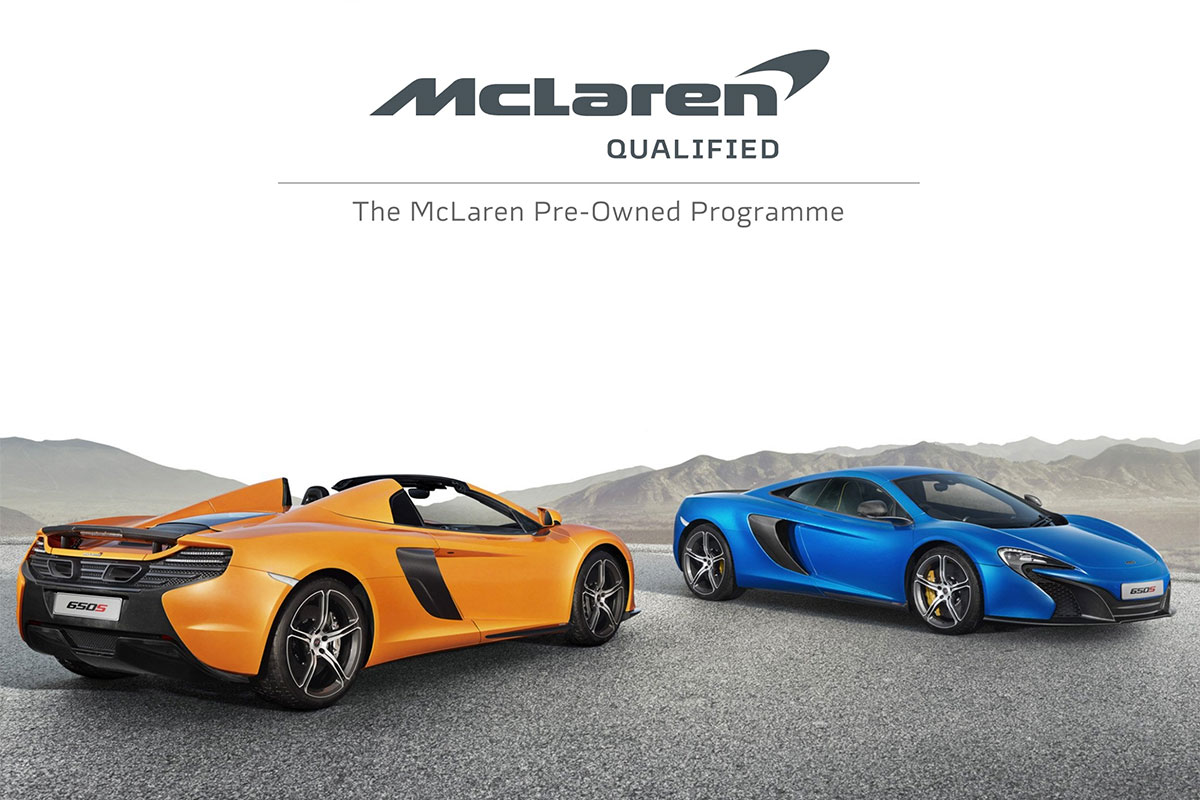 McLaren Qualified Pre-Owned Cars at Grange