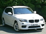 BMW X1 xDrive 18d M Sport 5dr with Heated Seats & Privacy 2.0 Diesel Estate (2011) image