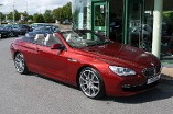 BMW 6 Series 640i SE 2dr Auto 3.0 Automatic Convertible (2011) image