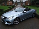 Mercedes-Benz E-Class E350CDI BLUTEC AMG SPORT FACELIFT 3.0 Diesel Automatic 2 door Convertible (2014)
