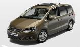 Seat Alhambra 2.0 TDI CR SE LUX (177) DSG (Auto) Diesel Automatic 5 door MPV (2014)