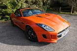 Jaguar F-TYPE 3.0 V6 S/C Convertible with Black Pk & Rear Cam Automatic 2 door (2015) image