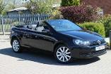 Volkswagen Golf 1.6 TDI BlueMotion Tech S 2dr Diesel Cabriolet (2011) image