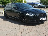 Jaguar XF Sportbrake 2.2D R Sport Black Diesel Automatic 5 door Estate (2015) image
