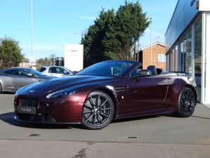 Aston Martin V12 Vantage S S 2dr Sportshift III 5.9 Automatic Roadster (2015)