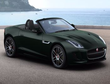 Jaguar F-TYPE R AWD 5.0 V8 550 Supercharged Convertible