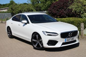 Volvo S90 D4 190hp R-Design Nav Auto with Winter Plus Pack, Blis & 360 Parking Camera 2.0 Diesel Automatic 4 door Saloon (2017) image