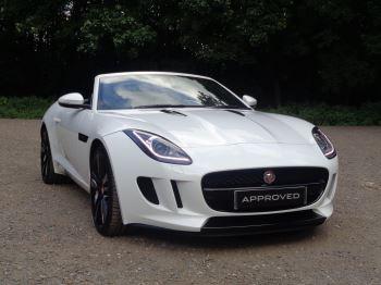 Jaguar F-TYPE 3.0 Supercharged V6 2dr Low Miles, High Spec Automatic Convertible (2016)
