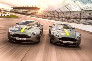 Aston Martin Vantage AMR - A fierce new breed. V8 and V12 available.