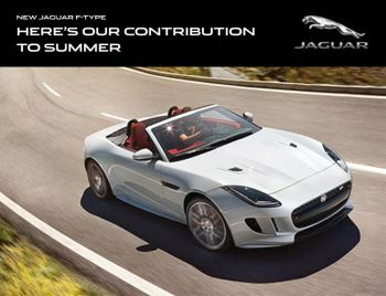 Jaguar F-TYPE - Here's our contribution to summer weekend event