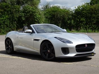 Jaguar F-TYPE 3.0 Supercharged V6 400 Sport 2dr Auto RWD Automatic Convertible (2018)