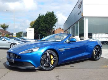 Aston Martin Vanquish V12 [595] S 2dr Volante Touchtronic 5.9 Automatic Convertible (2018)