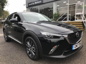 Mazda CX-3 2.0 Sport Nav 5dr - Front/Rear Parking Sensors, Sat Nav, Cruise Control & Heated Seats Hatchback (2017)
