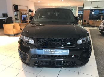 Land Rover Range Rover Sport  5.0 5Dr V8 S/C SVR Automatic 550HP - Sliding Panoramic Roof  5 door 4x4 (2017) image