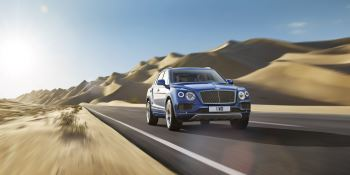 Bentley Bentayga - Unlike any other SUV in the world thumbnail image