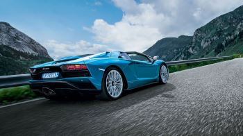 Lamborghini Aventador S Roadster - The Open Top Icon thumbnail image