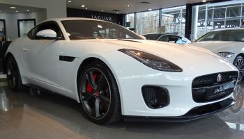 Jaguar F-TYPE 2.0 Turbocharged R-Dynamic 2dr Auto 300PS  image 1 thumbnail