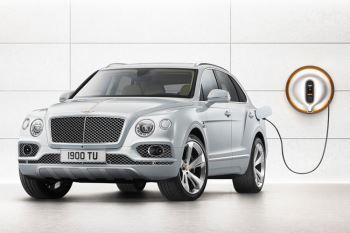 Bentley Bentayga Hybrid -  Bentley's first luxury hybrid