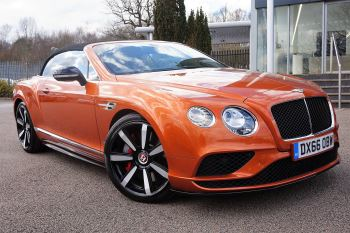 Bentley Continental GT Convertible 4.0 V8 S Mulliner Driving Spec 2dr  Automatic Convertible (2016)