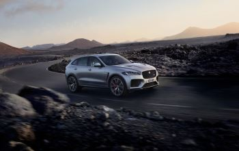Jaguar F-PACE SVR Orders now being taken.