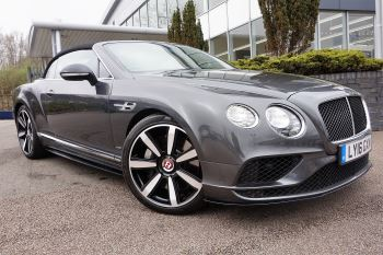 Bentley Continental GT V8 S Convertible 4.0 V8 S Mulliner Driving Spec 2dr Auto Automatic Coupe (2016)