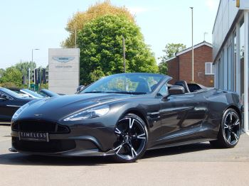 Aston Martin Vanquish V12 [595] S 2dr Volante Touchtronic 5.9 Automatic Convertible (2017) image